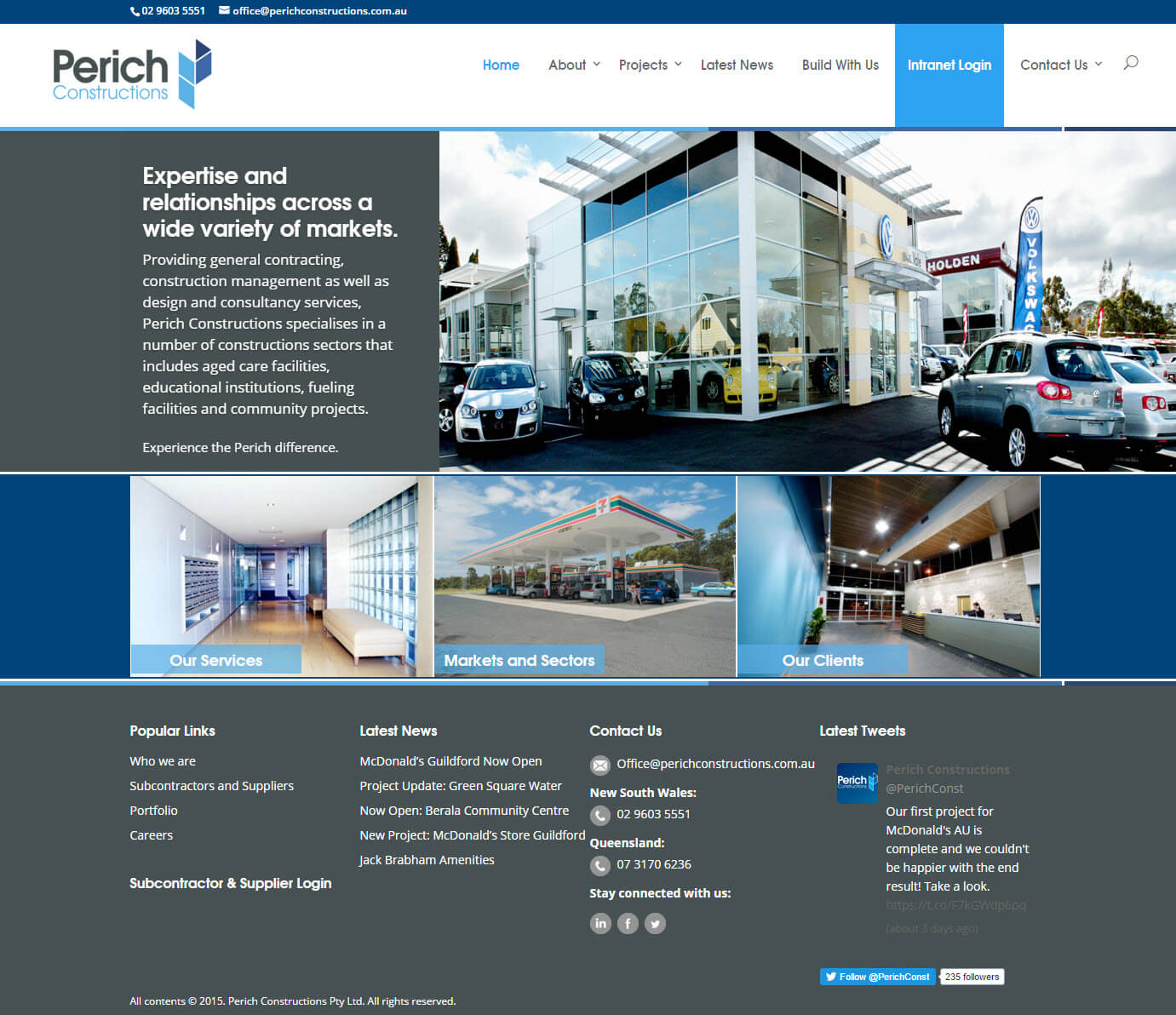 PERICH CONSTRUCTIONS